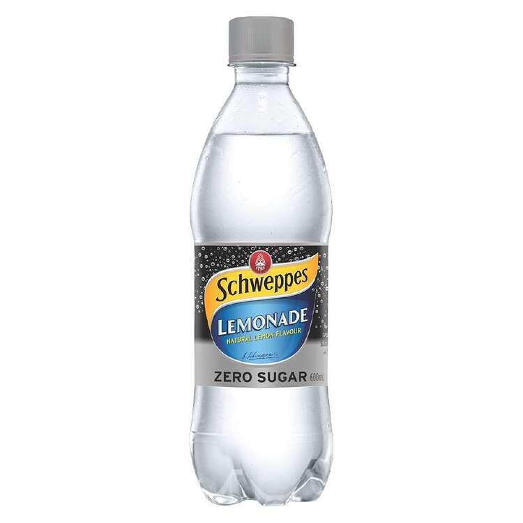 Schweppes Lemonade Zero Sugar 600mL