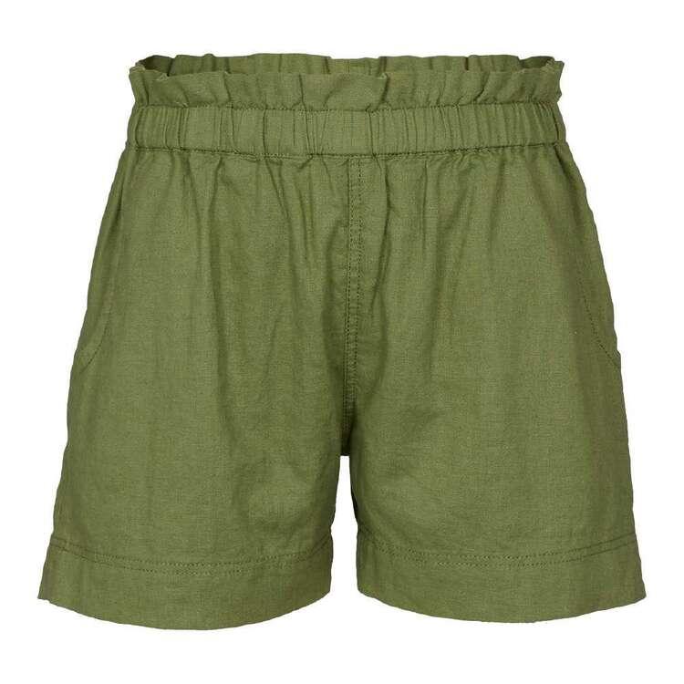 Cape Kids' Trip In A Van Linen Blend Shorts