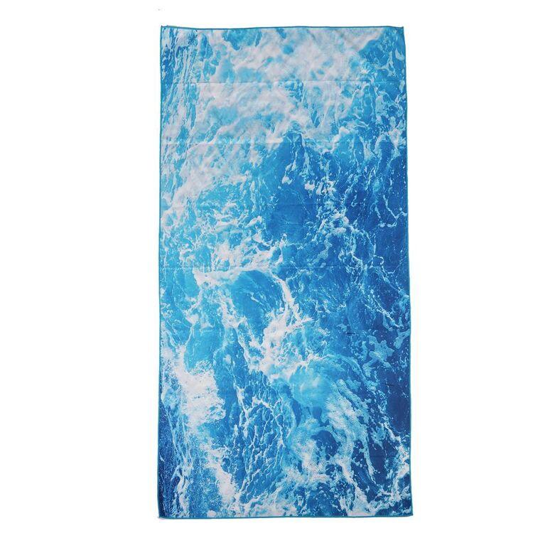 We Love Summer Ocean Beach Towel
