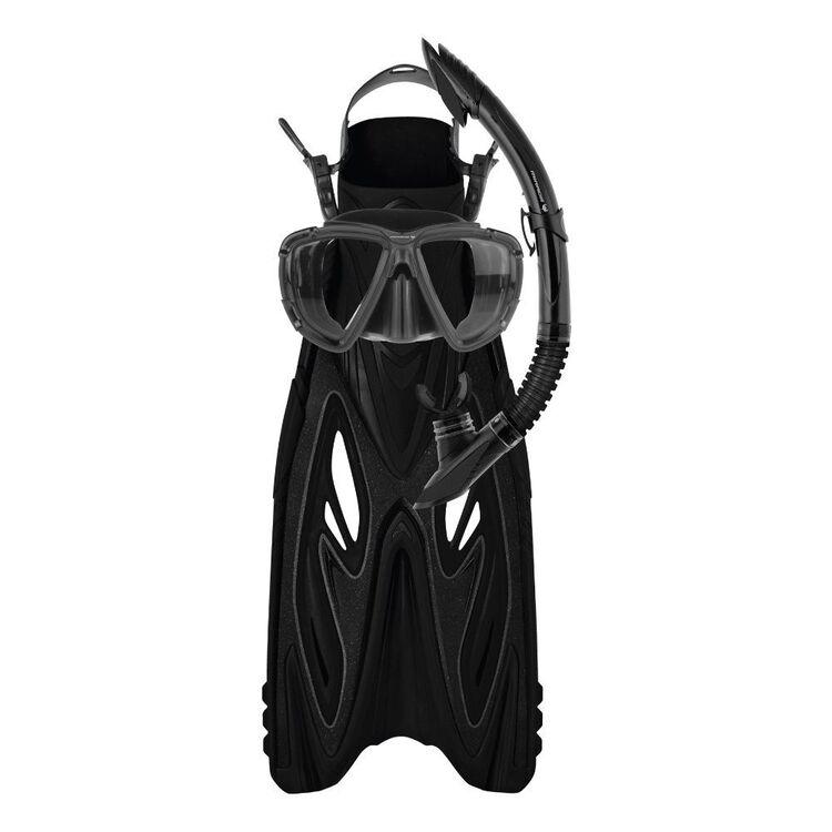 Mirage Rayzor Gold Mask Snorkel Fin Set