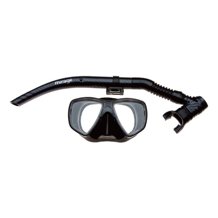 Mirage Carbon Mask & Snorkel Adult