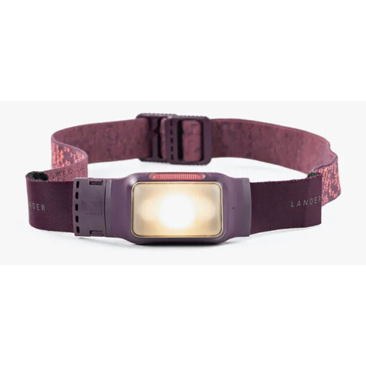 Lander Kiva 150 Lumen Purple Rechargable Headlamp