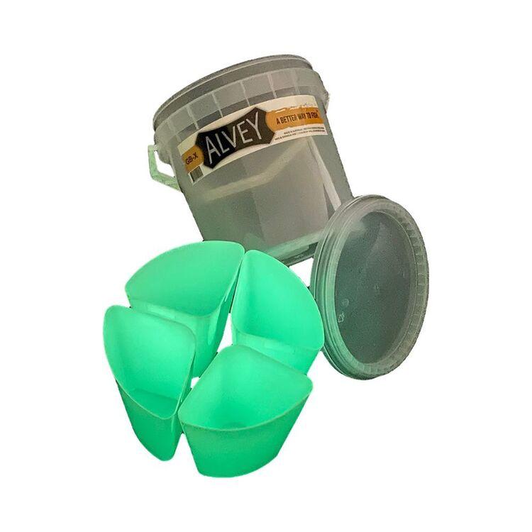 Alvey 5 Piece 10L Glow Bucket