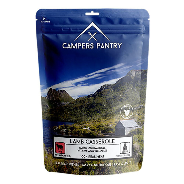Campers Pantry Lamb Casserole Single Meal