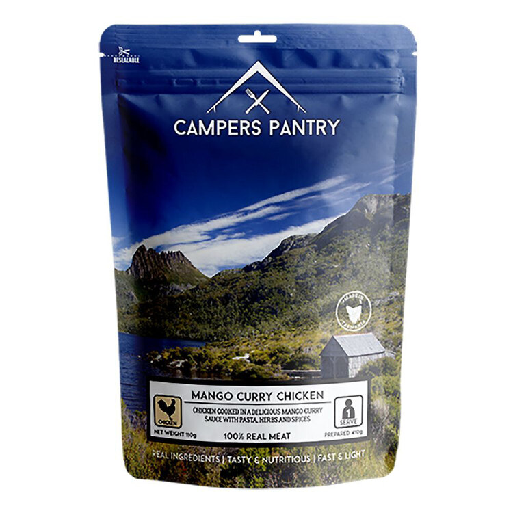 Campers Pantry Mango Curry Chicken Single Meal