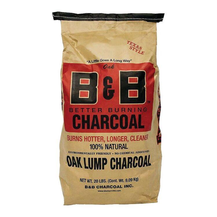 B&B Oak Lump Charcoal 9kg