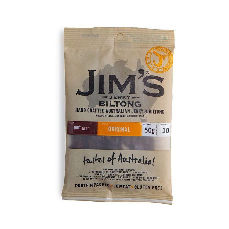 Jim's Biltong Original 50g