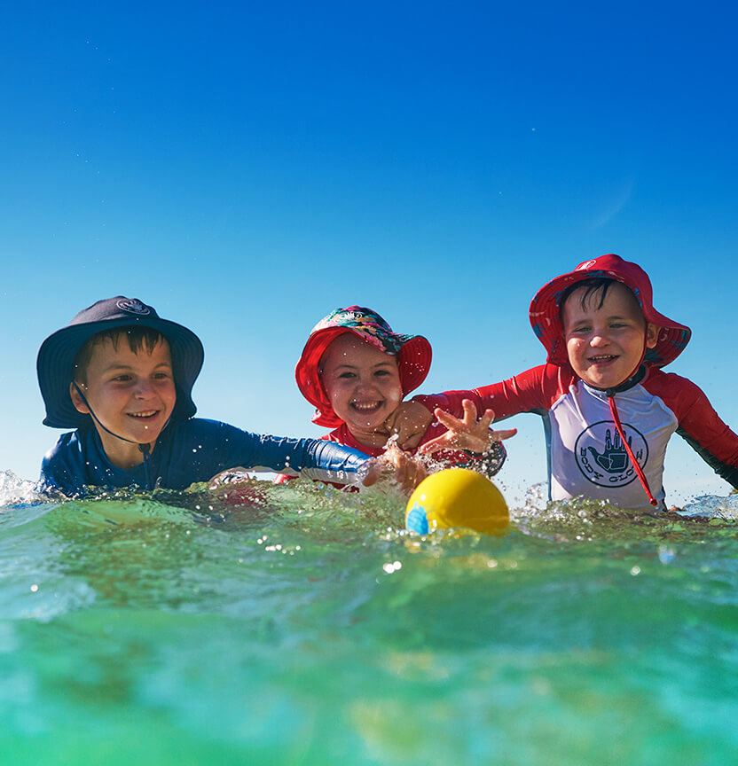 Shop Our Kid's Swim & Surfwear Range