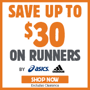 Save Up To $30 Off asics & adidas Runners