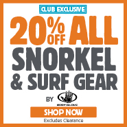 VIP Club Exclusive 20% Off Body Glove Snorkel & Surf Gear