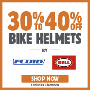 30% To 40% Off Fluid & Bell Bike Helmets