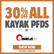 30% Off Seak Kayak PFDs