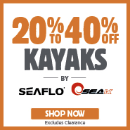20% To 40% Off Seaflo & Seak Kayaks