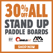 30% Off All Stand Up Paddle Boards By Seak & Aqua Marina