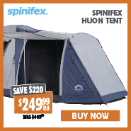 Spinifex Huon Tent Save $220