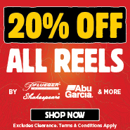 20% Off All Reels