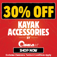 30% Off Kayak Accessories