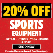 20% Off Sports Equipment
