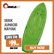 Save $50 Seak Junior Kayak
