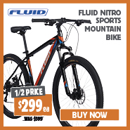 1/2 Price Fluid Nitro Sports Mountain Bike