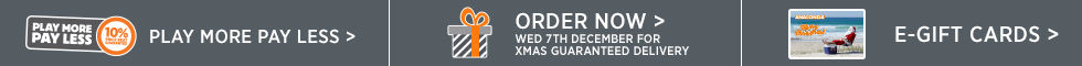 Order now or before Wednesday 7th December for Christmas Guaranteed Delivery