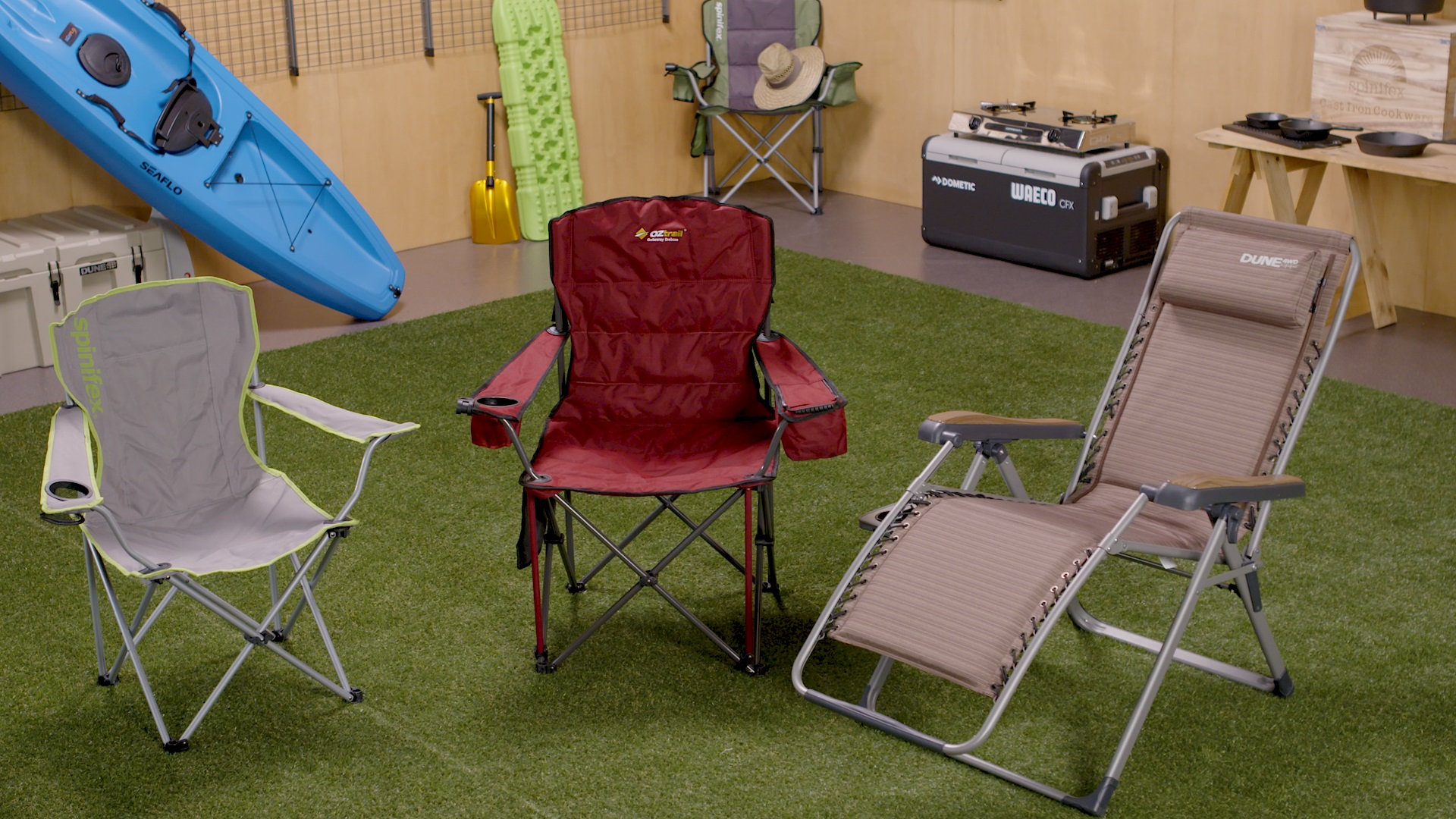 How To Choose A Camping Chair - Range