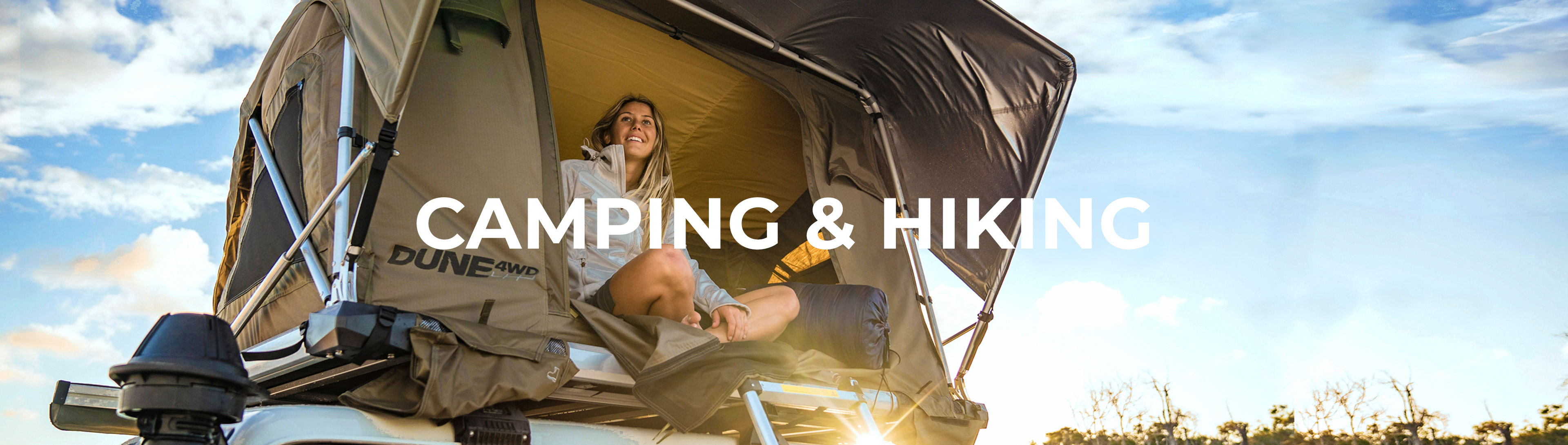 Shop Our Camping & Hiking Range
