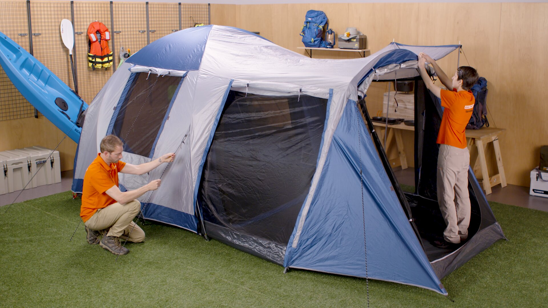 How To Choose A Camping Tent - Family Tent