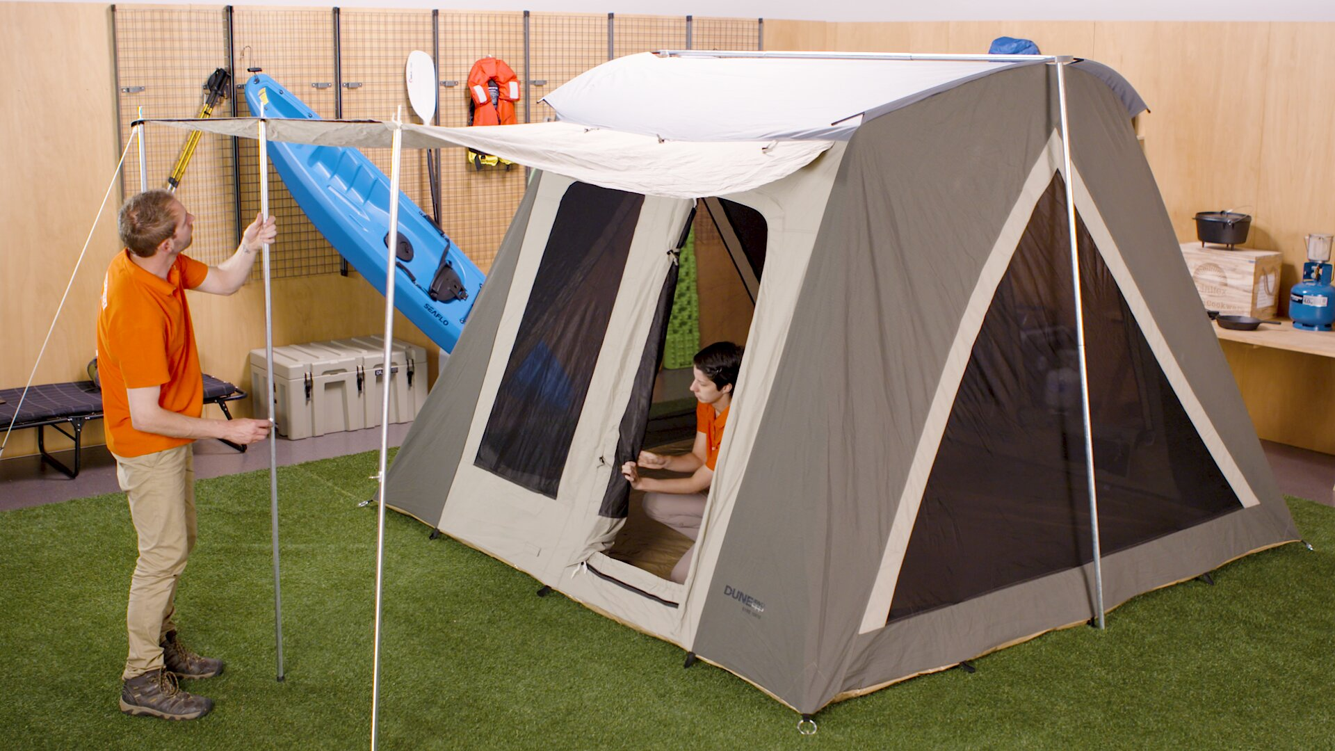 How To Choose A Camping Tent - Triangle Tent