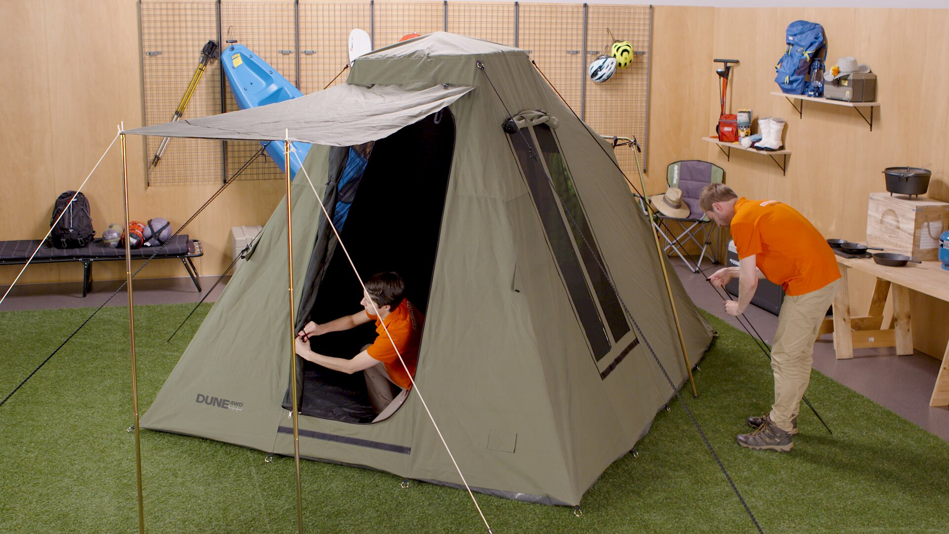 How To Choose A Camping Tent - Teepee