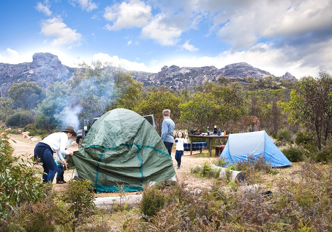Top five Easter camping locations around Melbourne
