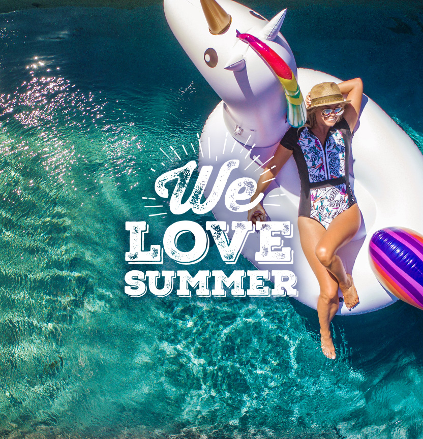 Shop The We Love Summer Range